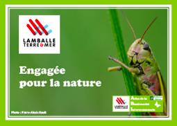 Carte postale Atlas de la biodiversité Engagée pour la nature