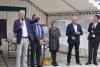 Inauguration du parvis de la gare à Lamballe-Armor
