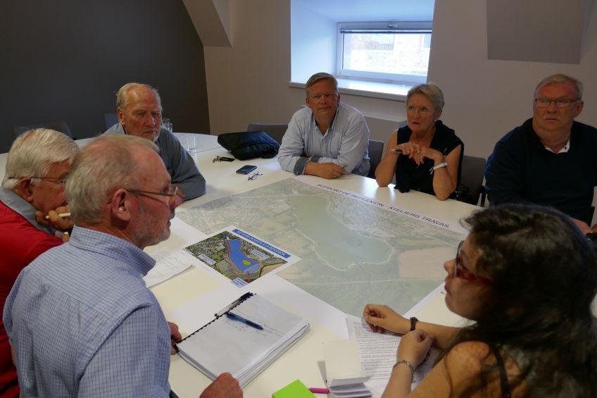 Ateliers participatifs pour le plan d'eau de la ville Gaudu