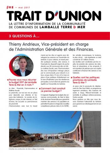 Trait d'Union 2 - T. Andrieux
