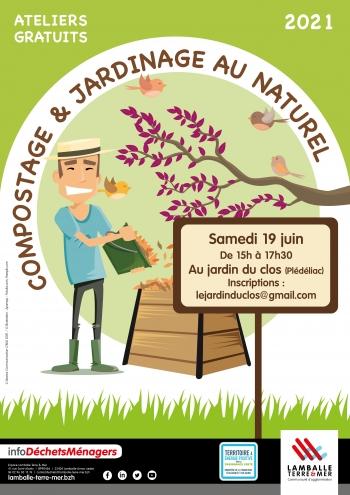 Atelier compostage - Plédéliac