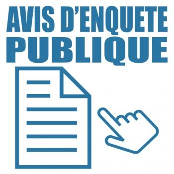 Logo avis d'enqute publique. - ©Scriblr - stock.adobe.com