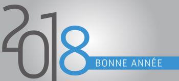 2018 Bonne anne bleu - ©Rostichep - stock.adobe.com
