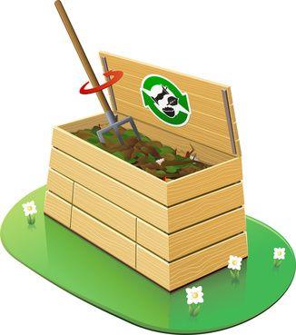 Composteur : aration du mlange (dtour) - ©Onidji - stock.adobe.com
